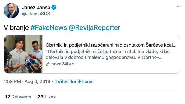 Fake news Reporter
