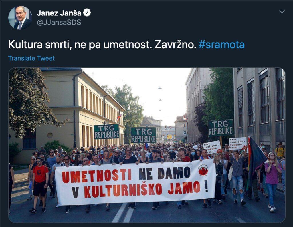Janez Janša o kulturi