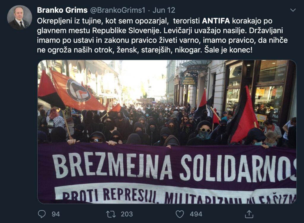ANTIFA kot teroristična organizacija
